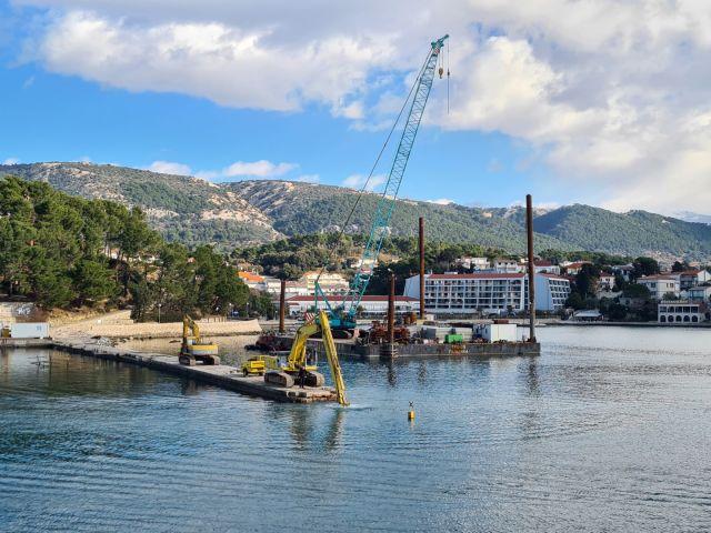 Županijska lučka uprava Rab uspješno vodi projekt rekonstrukcije Pumpurele